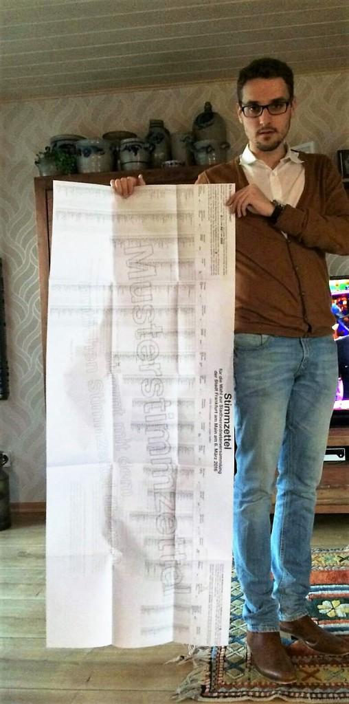 Stimmzettel KoWa16