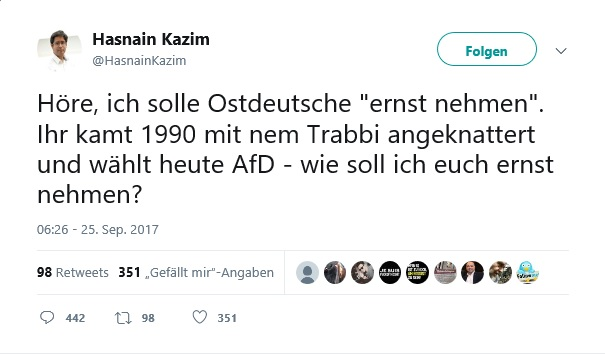 Gesehen auf Twitter (@HasnainKazim)